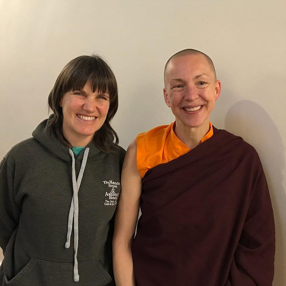 Learning yoga with the inspirational Pema Deki