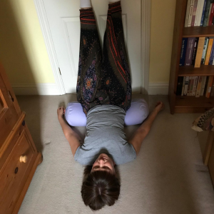 Finding Your Calm Space: Turning Yourself Upside Down