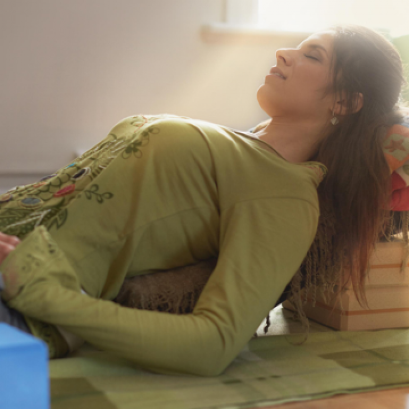 Finding Your Calm Space: Restorative Yoga and Effortless Rest